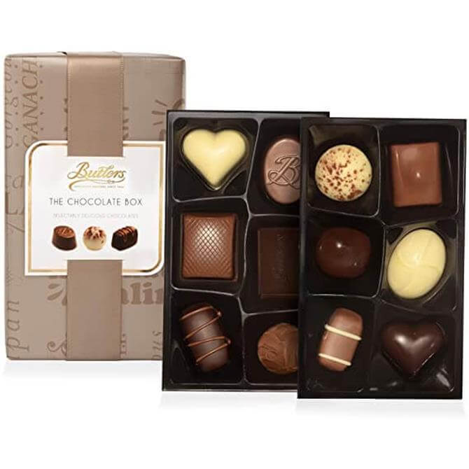 Butlers Chocolate Box Gift Boxed Selection of Chocolates, 160G