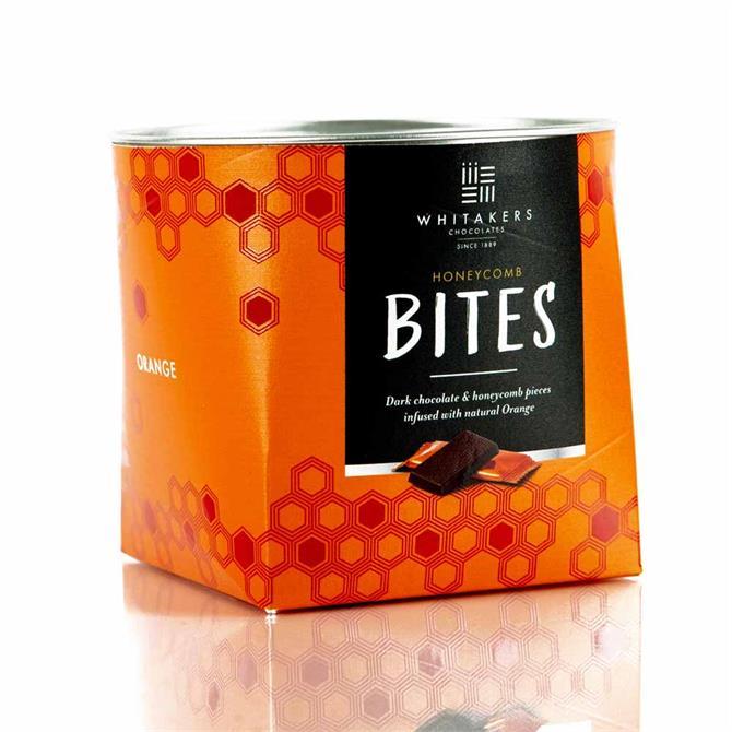 Whitakers Dark Chocolate Orange Honeycomb Chocolate Bites (150G)