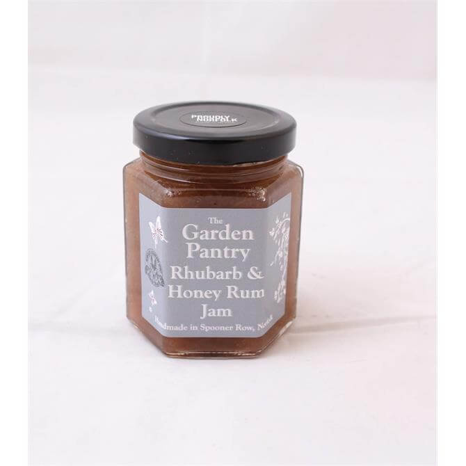 The Garden Pantry Rhubarb & Honey Rum Jam 230g