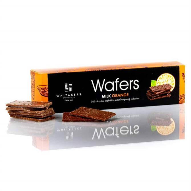 Whitakers Milk Chocolate Orange Wafer Thins (175G)