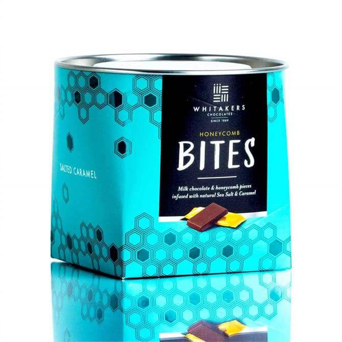 Whitakers Milk Chocolate Salted Caramel Honeycomb Bites (150G)