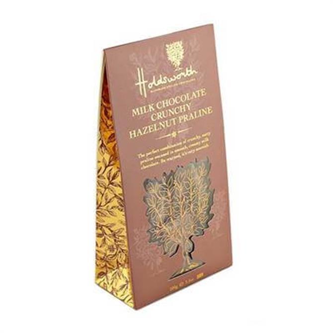 Holdsworth Milk Chocolate Crunchy Hazelnut Praline 100g