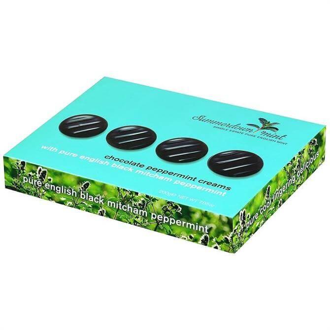 Summerdown Chocolate Mint Creams 200g