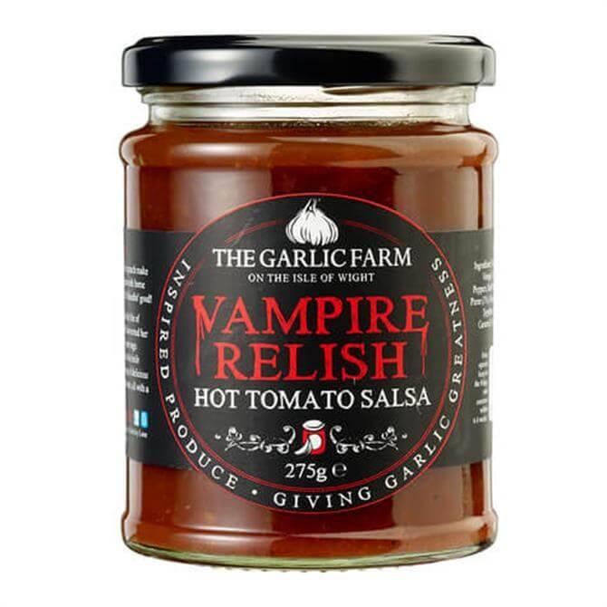 The Garlic Farm Vampire Relish Hot Tomato Salsa