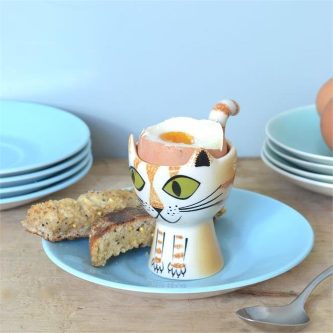 Hannah Turner Egg Cup - Ginger Cat