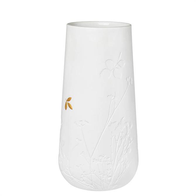 Rader Vase with Golden Leaf 'Large'