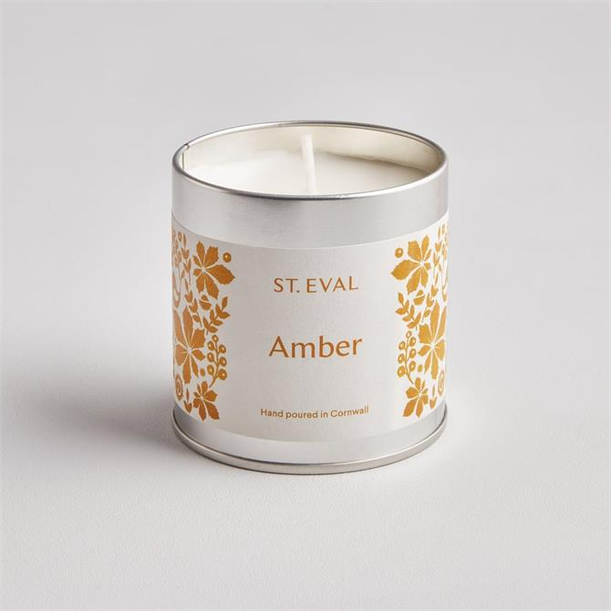 St Eval Folk Scented Tin Candle