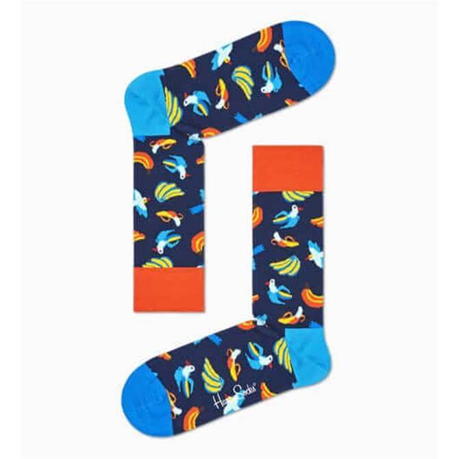 HappySocks Banana Birds Socks