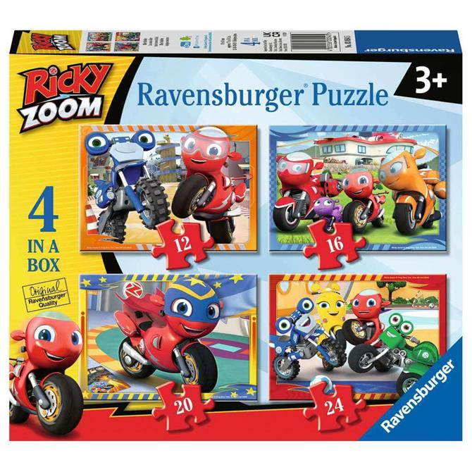 Ravensburger Ricky Zoom 4 in a Box Jigsaw Puzzles