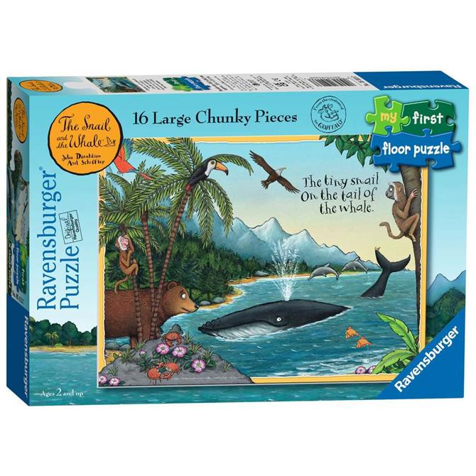 Ravensburger The Snail & The Whale My First Floor Puzzle - 16pc