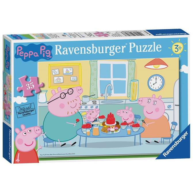 Ravensburger Peppa Pig Family Time Jigsaw Puzzle - 35pc