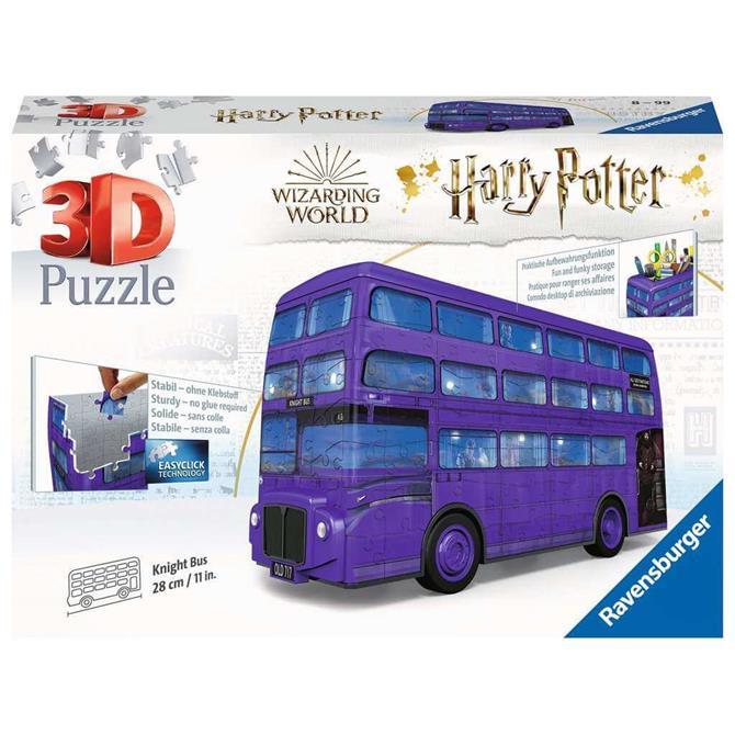 Ravensburger Harry Potter Knight Bus 3D Puzzle - 216pc