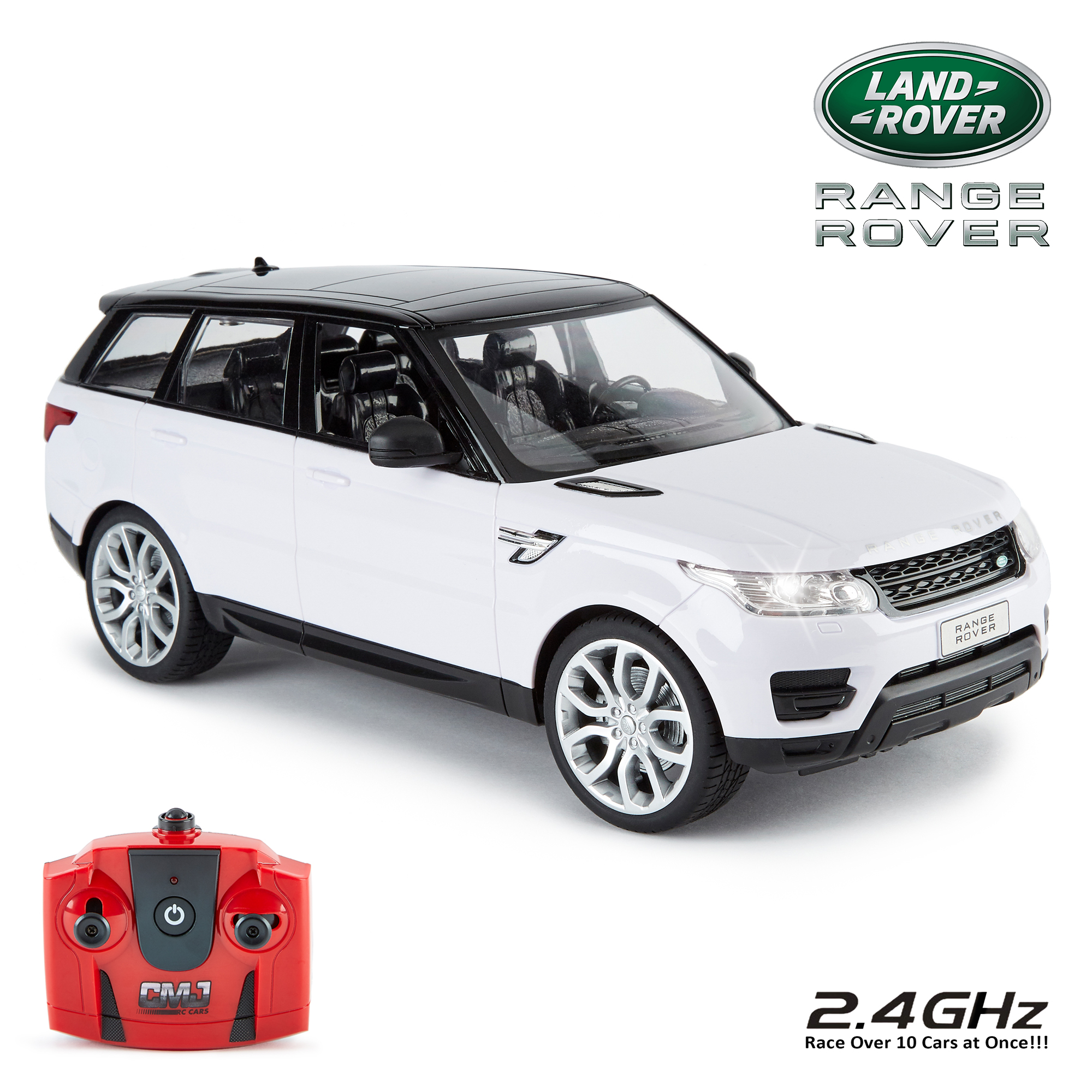 An image of 2014 Range Rover Sport 1:14 Scale RC Car - WHITE