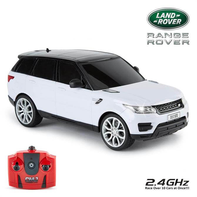 White 2014 Range Rover Sport 1:18 Scale RC Car