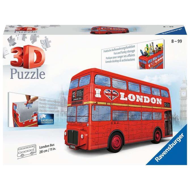Ravensburger London Bus 3D Puzzle, 216pc