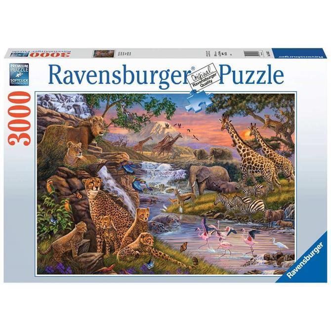 Ravensburger Animal Kingdom - 3000PC Jigsaw Puzzle