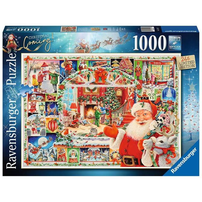 Ravensburger Christmas is Coming! Limited Edition 2020 Jigsaw Puzzle- 1000pc