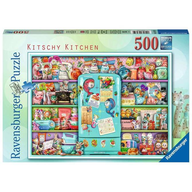Ravenburger Kitschy Kitchen Jigsaw Puzzle - 500pc
