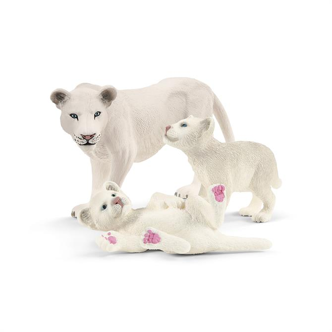Schleich Lioness with Cubs