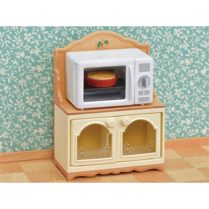 Sylvanian Familes Microwave Cabinet