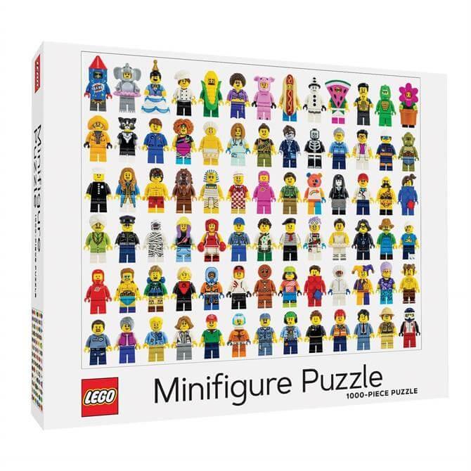 Lego Mini Figure 1000pc Jigsaw Puzzle