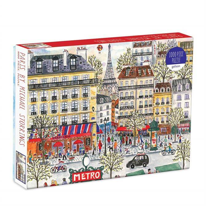Michael Storrings Paris 1000Pc Jigsaw Puzzle