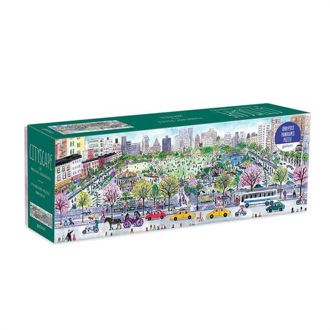 Michael Storrings Cityscape 1000Pc Panoramic Puzzle