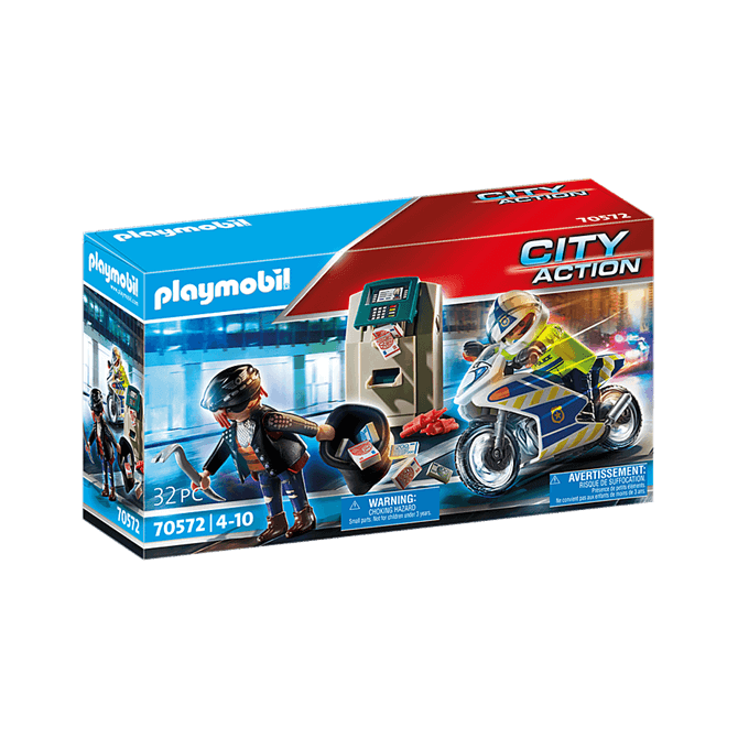 Playmobil Police Bank Robber Chase Playset