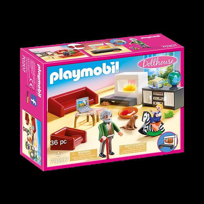 Playmobil Comfy Living Room Set