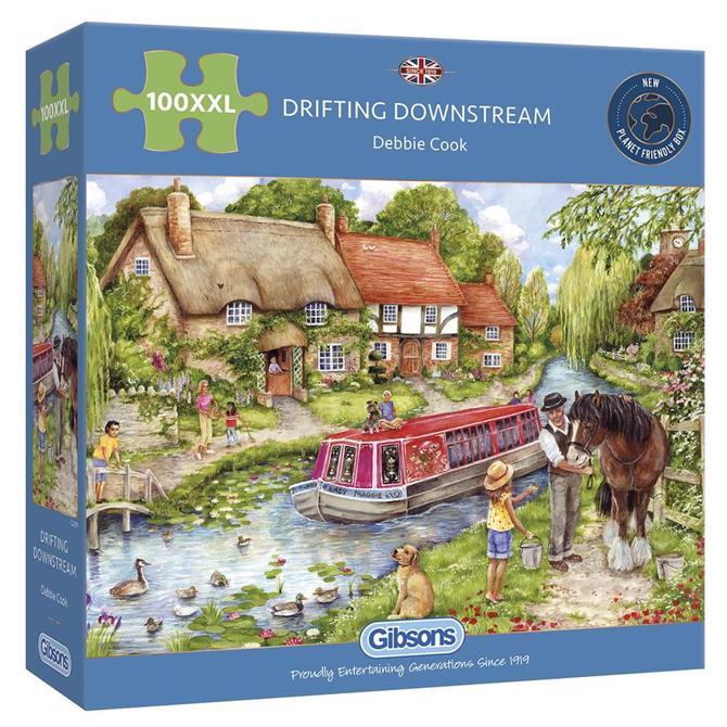 Drifting Downstream 100XXL piece Jigsaw Puzzle
