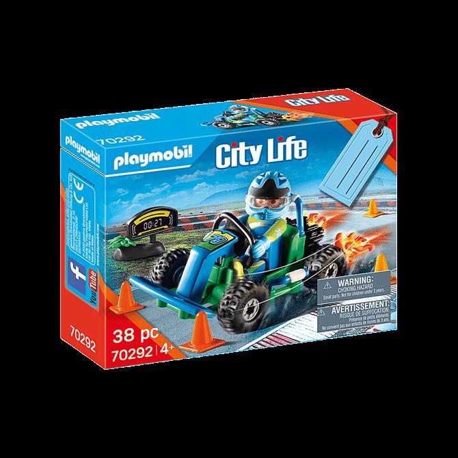 Playmobil Go Kart Racer Gift Set