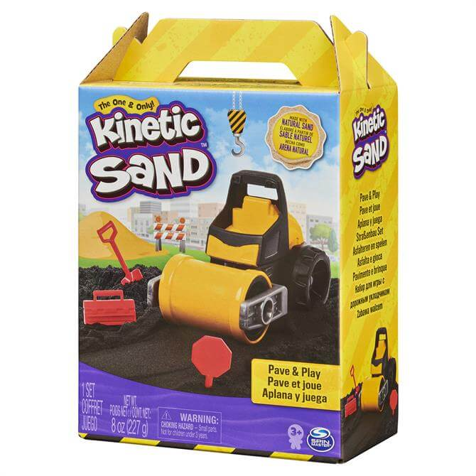 Kinetic Sand Pave and Play Contruction Set