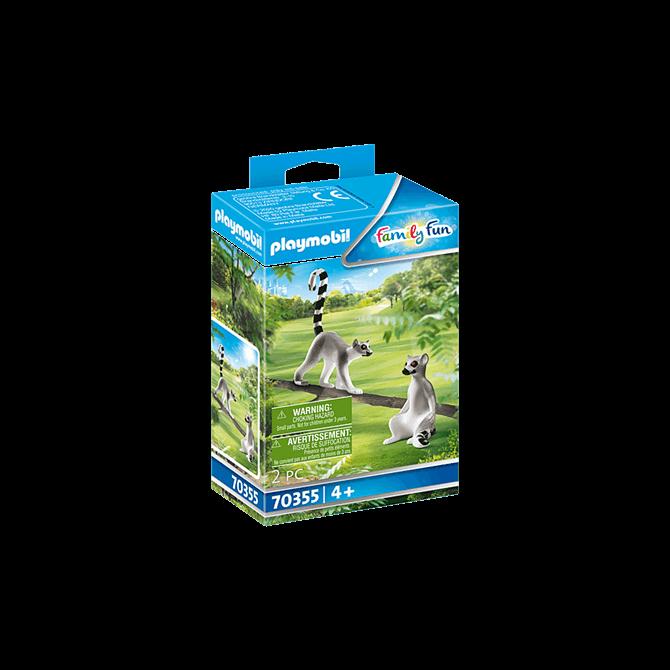Playmobil Lemurs Play Set