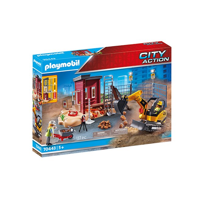 Playmobil Small Excavator set