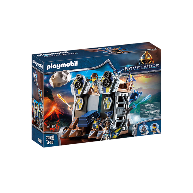 Playmobil Novelmore Mobile Fortress Playset