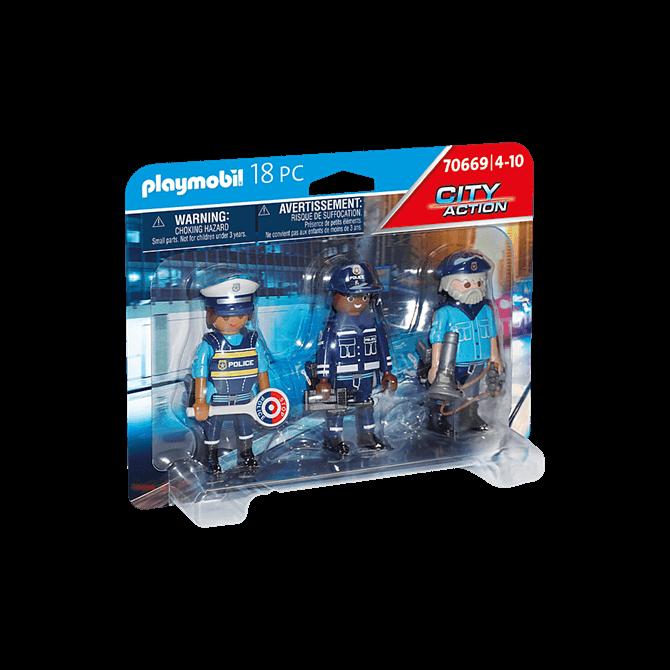 Playmobil Police Figure Playset