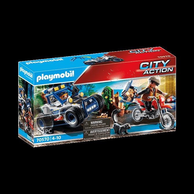 Playmobil Police Off-Road Car Jewel Thief Playset