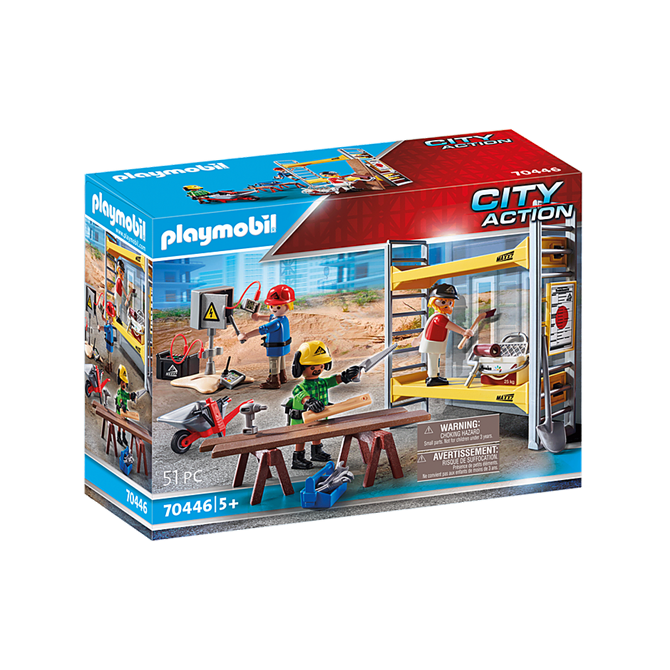 Playmobil Scaffold with Workers set