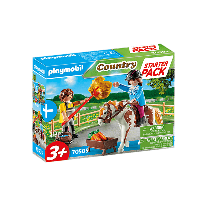 Playmobil Starter Pack Horseback Riding Playset