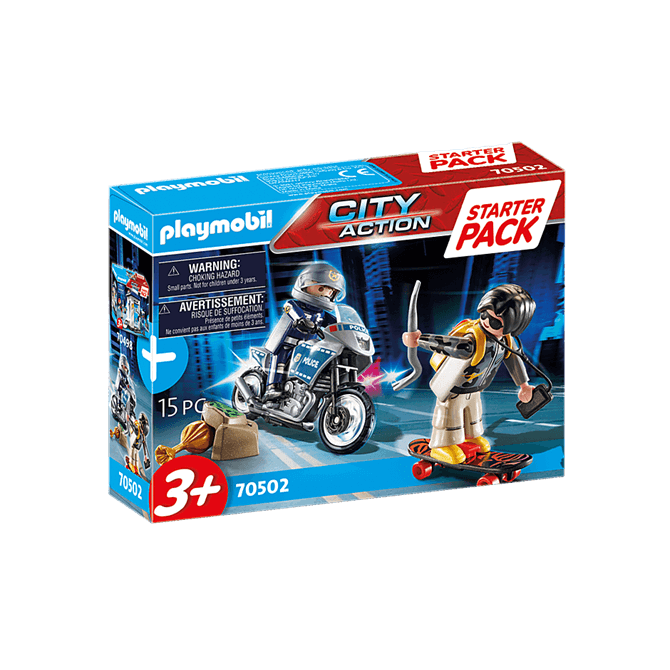 Playmobil Police Chase Playset