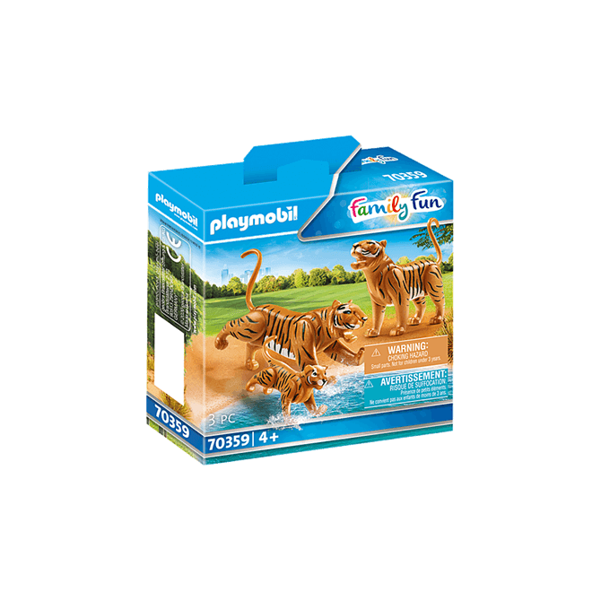 Playmobil Tigers with Cub Play Set