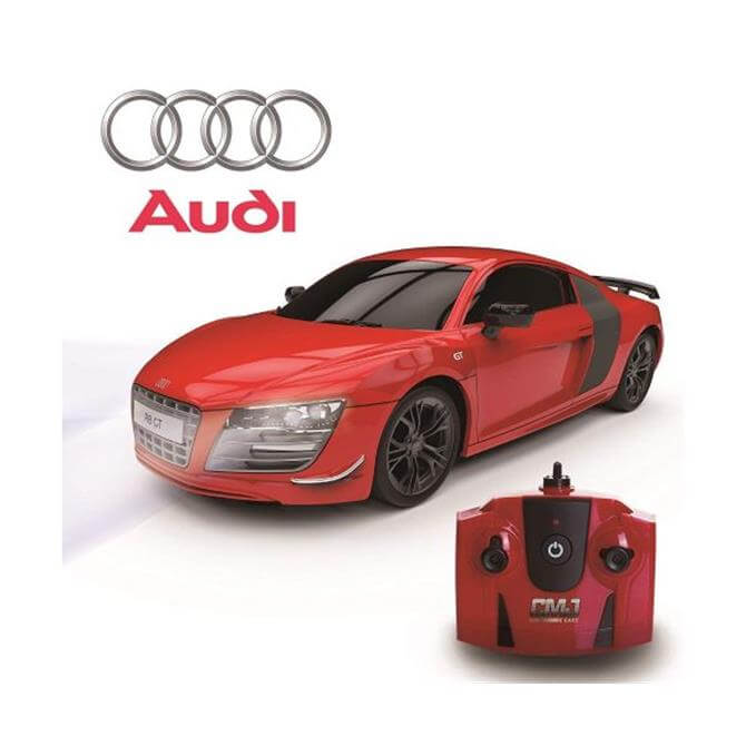 Red Audi R8 GTI Limited Edition 1:24 Scale RC Car