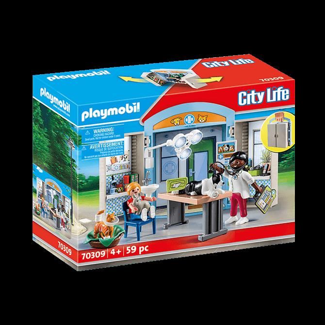 Playmobil Vet Clinic Playset