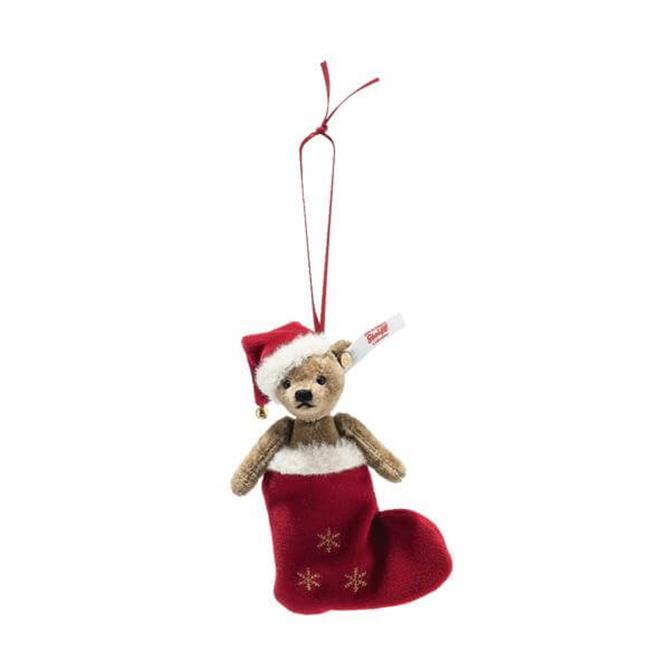 Steiff Christmas Teddy bear Ornament