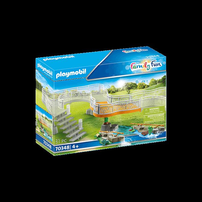 Playmobil Zoo Viewing Platform Extension Play Set