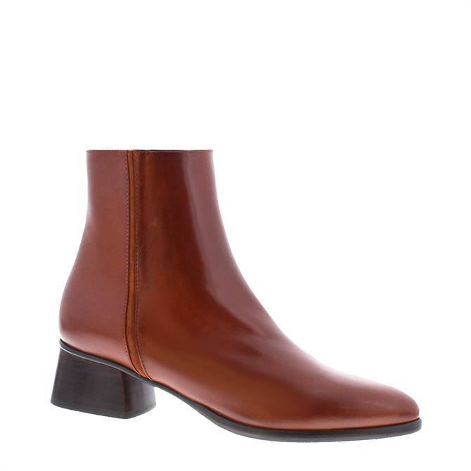 Carl Scarpa Megan Cognac Ankle Boot