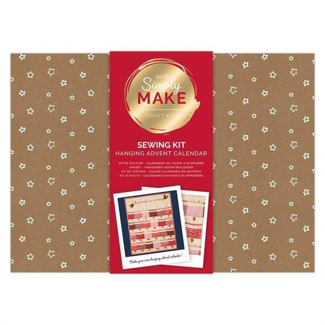 Simply Make DIY Make Your Own Hanging Advent Calendar Sewing craft kit