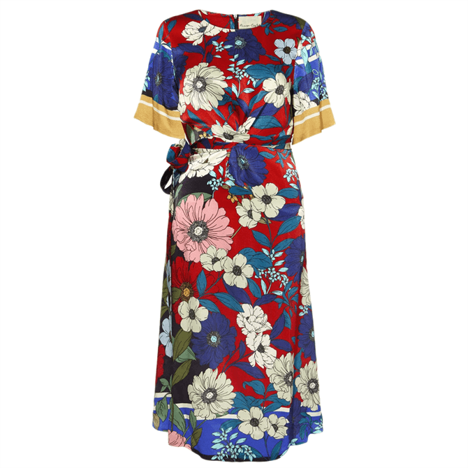 Phase Eight Margot Floral Dress Navy