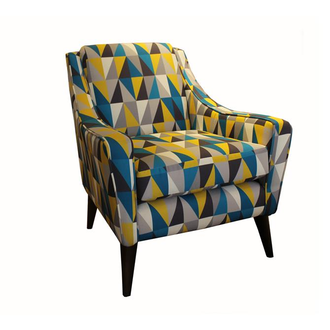 Ludvika Designer Armchair in B Range Fabric