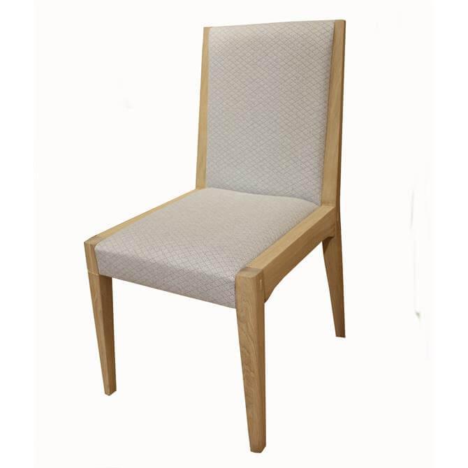 Myska Dining Chair in Fabric
